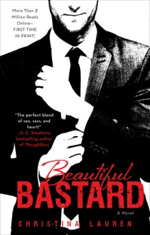 SYNOPSIS: An ambitious intern. A perfectionist executive. And a whole lot of name calling. Whip-smart, hardworking, and on her way to an MBA, Chloe Mills has only one problem: her boss, Bennett Ryan. He's exacting, blunt, inconsiderate—and completely irresistible. A Beautiful Bastard. Bennett has returned to Chicago from France to take a vital role in his family's massive media business. He never expected that the assistant who'd been helping him from abroad was the gorgeous, innocently provocative—completely infuriating—creature he now has to see every day. Despite the rumors, he's never been one for a workplace hookup. But Chloe's so tempting he's willing to bend the rules—or outright smash them—if it means he can have her. All over the office. As their appetites for one another increase to a breaking point, Bennett and Chloe must decide exactly what they're willing to lose in order to win each other. Originally only available online as The Office by tby789—and garnering over 2 million reads on fanfiction sites—Beautiful Bastard has been extensively updated for re-release.